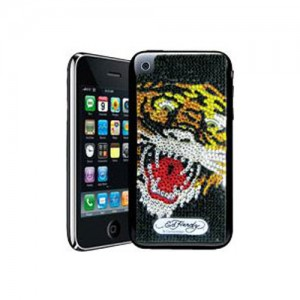 Ed Hardy sticker autocollant iphone tigre iPhone 3g 3gs