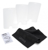3 protections d'écran Gear4 clear pour iPhone 5