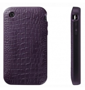 Coque Switcheasy reptile violette iphone 3g 3gs