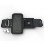 XTREMEMAC Brassard SPORTWRAP pour iPhone 5 - Black