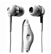 Sennheiser ecouteurs mm 50 blanc pour Iphone 3G/3GS &amp; 4/4S / 5