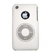 Coque Xqisit blanche design ipod iphone 3g 3gs