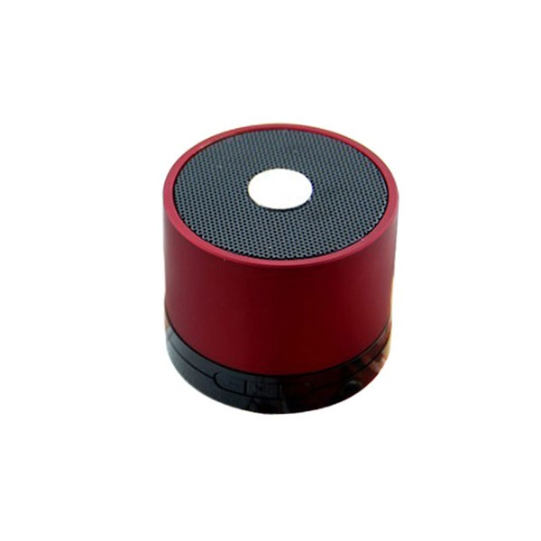 mini enceinte bluetooth rouge lecteur micro sd et usb coquediscount. Black Bedroom Furniture Sets. Home Design Ideas