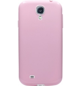 Coque semi-rigide rose pour Samsung Galaxy S4 I9500