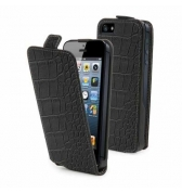 Etui de protection effet croco pour iPhone 4 et 4S