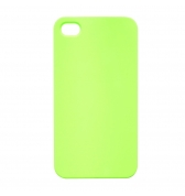 Coque rigide verte fluo pour iPhone 5