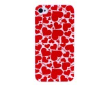 Coque coeurs rouges love  iPhone 4/4S