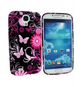 Coque SoftyGel Flower pour Samsung galaxy S4 i9500