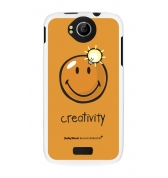 Coque motif Smiley Creativity by Moxie pour Wiko Cink Peax