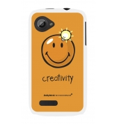 Coque motif Smiley Creativity by Moxie pour Wiko Cink Slim