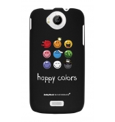 Coque motif Smiley Happy Colors by Moxie pour Wiko Cink Peax