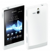 Coque glossy blanche Made for xperia pour Sony Xperia U