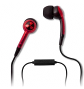 IFROGZ casque micro intra auriculaire rouge iPhone 3G/3GS/4/4S