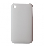 Coque Iphone blanche peau de peche 3G 3GS