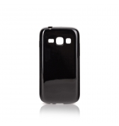 Coque silcone Xqisit FlexCase Galaxy Ace 3 noir