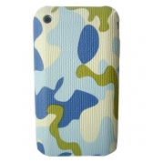 Coque camouflage arm&eacute;e bleu iphone 3G 3GS