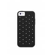 XDORIA COQUE PROTECTION SILICONE  SPOTS NOIRES APPLE IPHONE 5C