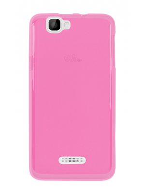 Moxie coque TPU 2 tons rose pour Wiko Rainbow