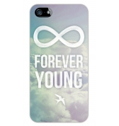 Coque Forever Young pour iPhone 5 / 5S