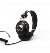 Casque audio Hello Kitty noir jack 3.5mm