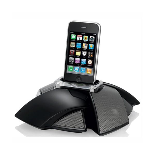 enceinte portable jbl noire design pour iphone et ipod coquediscount. Black Bedroom Furniture Sets. Home Design Ideas