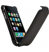 Etui Slim carbone noir Iphone 3G/3GS Modelabs