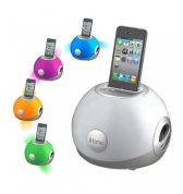 Enceinte iHome iP15 Colortunes eclairage multicolore pour iPhone 3g 3gs iphone 4/4S iPod