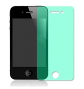 Film protecteur ecran transparent vert iPhone 4/4S