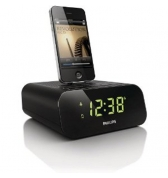 Radio reveil Philips avec dock iPhone et ipod affichage ecran AJ3270D