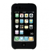 Housse silicone noire iPhone 3G/3GS