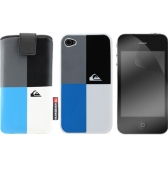 Pack protection Quiksilver graphique pour iPhone 4/4S