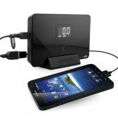 Power Cruizer Capdase- Batterie autonome 18000 mAh pour Ordinateur iPad iPhone HTC Samsung