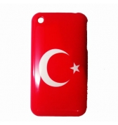 Coque Drapeau Turquie Iphone 3G/3GS 